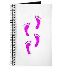 FOOTPRINTS™ IN PINK™ PAINT™ Journal