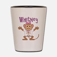 Little Monkey Whitney Shot Glass
