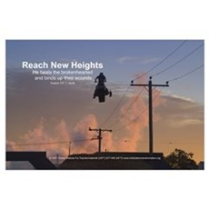 Reach New Heights Poster