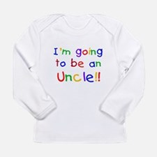 Going to be an Uncle Long Sleeve Infant T-Shirt