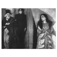 The Cabinet of Dr. Caligari Framed Print