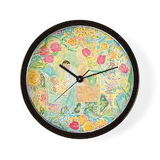 """A Healing Place"" (TM) Wall Clock"