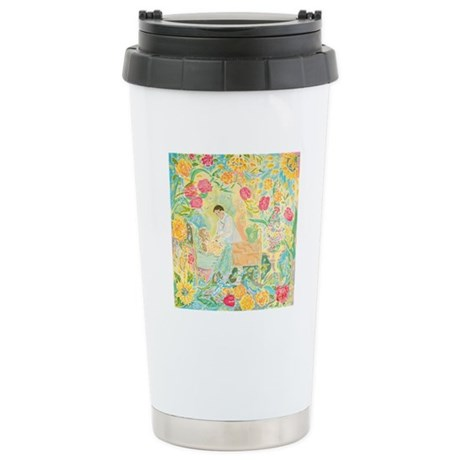 """A Healing Place"" (TM) Stainless Steel Travel Mug"