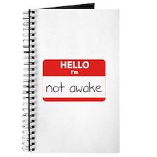 Hello, I'm not awake Journal