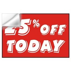 25% OFF TODAY Wall Decal