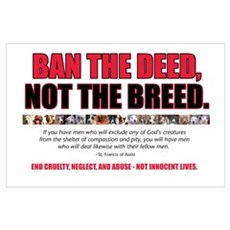 Ban the Deed Poster