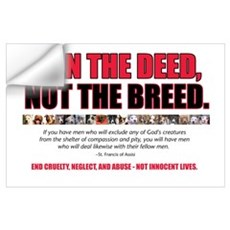 Ban the Deed Wall Decal