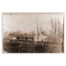 Jesse James' House Photo Print Poster