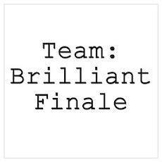 Team Brilliant Finale Poster