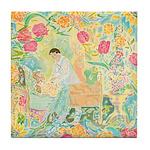 """A Healing Place"" (TM) Tile Coaster"