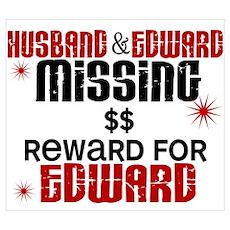 Husband & Edward Missing TWILIGHT Prin Poster