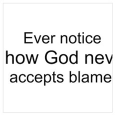 """God Blame"" Poster"