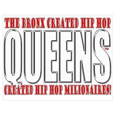 Queens Hip Hop Poster