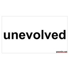 unevolved Poster