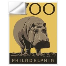 Zoo Hippo Wall Decal