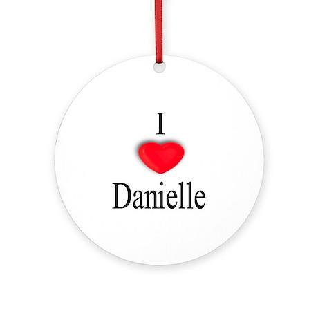 Danielle Ornament (Round)
