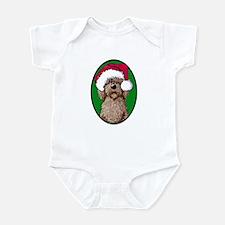 Santa Chocolate Doodle Infant Bodysuit
