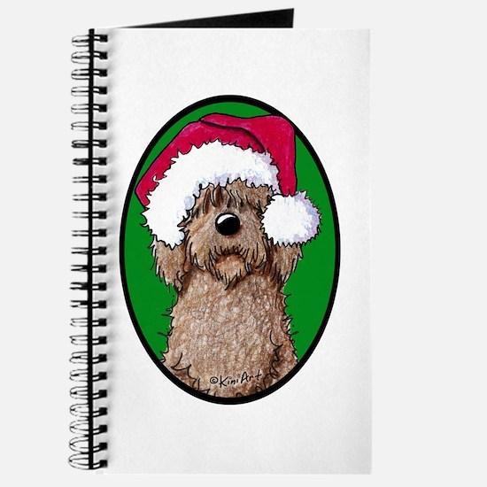 Santa Chocolate Doodle Journal