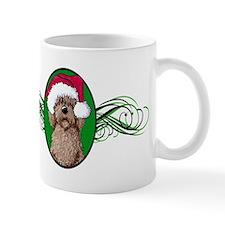 Santa Chocolate Doodle Mug