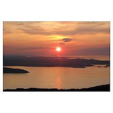 -Scenery (Sunrise) Poster