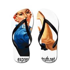 Expressing Your Truth Flip Flops