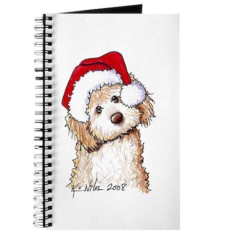 Santa Phantom Doodle Journal