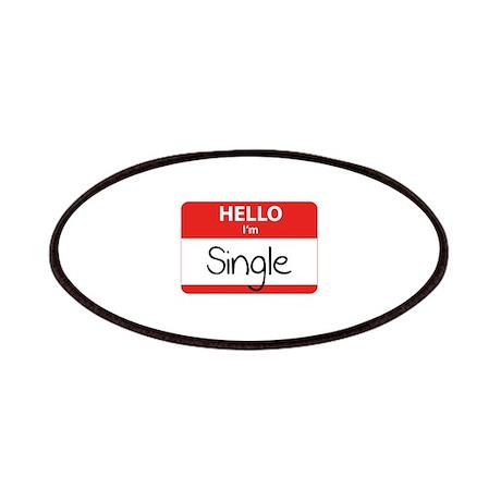 Hello I'm Single Patches
