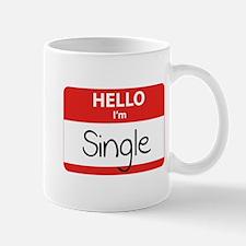 Hello I'm Single Mug