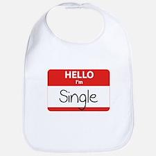 Hello I'm Single Bib