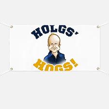 Hols' Hogs! Banner