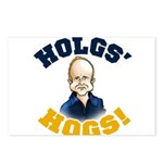 Hols' Hogs! Postcards (Package of 8)
