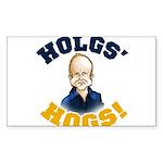 Hols' Hogs! Sticker (Rectangle)