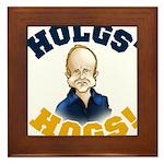 Hols' Hogs! Framed Tile
