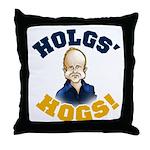 Hols' Hogs! Throw Pillow