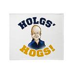 Hols' Hogs! Throw Blanket