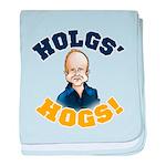 Hols' Hogs! baby blanket
