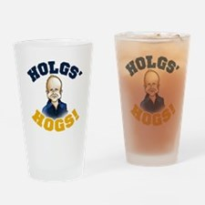 Hols' Hogs! Drinking Glass