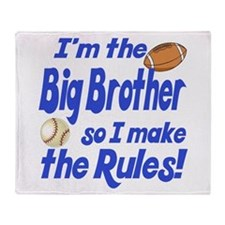 Big Brother Rules Throw Blanket