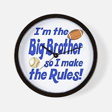 Big Brother Rules Wall Clock
