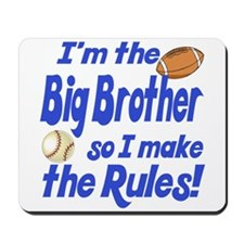 Big Brother Rules Mousepad