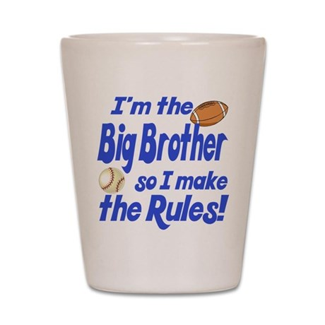 Big Brother Rules Shot Glass