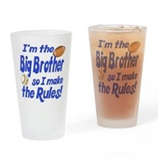 Big Brother Rules Drinking Glass