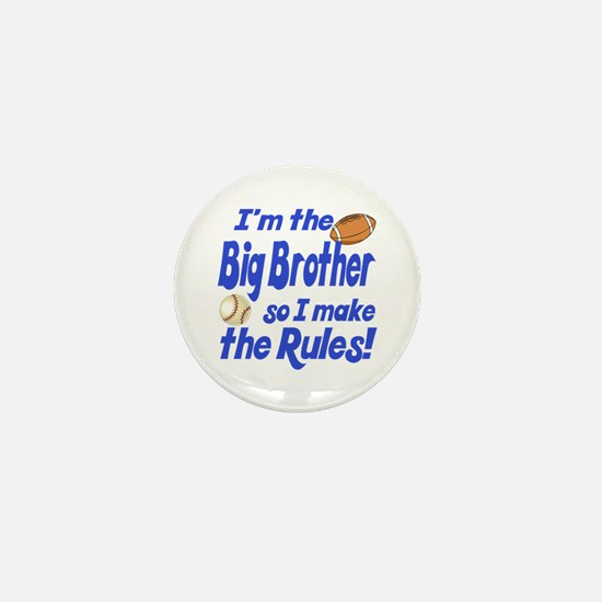 Big Brother Rules Mini Button