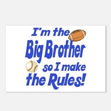 Big Brother Rules Postcards (Package of 8)