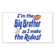 Big Brother Rules Decal