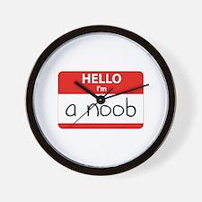 Hello I'm a noob Wall Clock