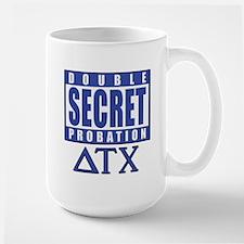 Delta House Double Secret Probation Large Mug