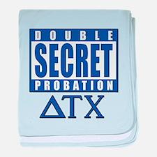 Delta House Double Secret Probation baby blanket