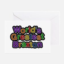 World's Greatest Braxton Greeting Card