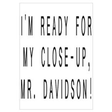 Mr. Davidson Framed Print